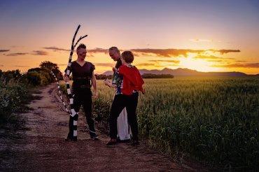 Annette Carmichael and dancers for The Beauty Index. Image Dene Bingham