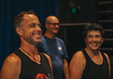 Mandurah in rehearsal, Photo by Mark Labrow Photography