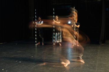 Dancers from Annette Carmichael's The Beauty Index. Image Melissa Drummond.