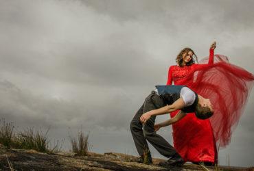 Dancers for Annette Carmichael's Light Shade of Red